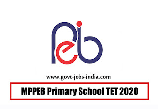 MPPEB Primary School TET 2020