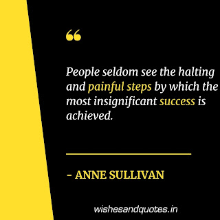 motivational quotes in english for success anne sullivan