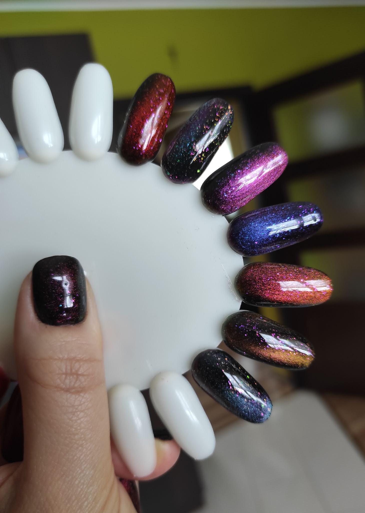 Iguana Magnetique Nc Nails Company - efekt z magnesem