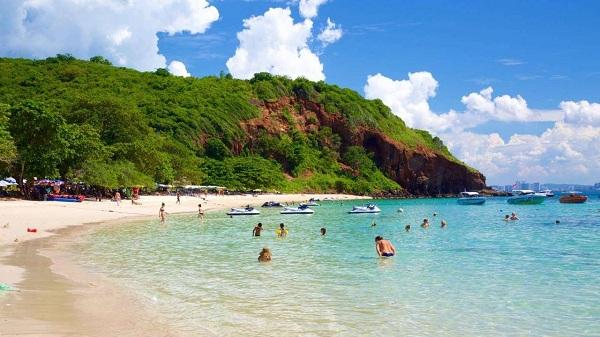 Biển Nual thuộc đảo Coral Island