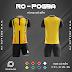 Áo Không Logo Rozaco RO-POGBA Màu Vàng