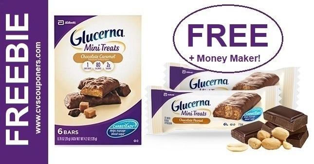 FREE Glucerna Mini Treats CVS Deal 5-3-5-9