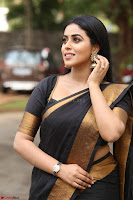 Poorna in Cute Backless Choli Saree Stunning Beauty at Avantika Movie platinum Disc Function ~  Exclusive 077.JPG