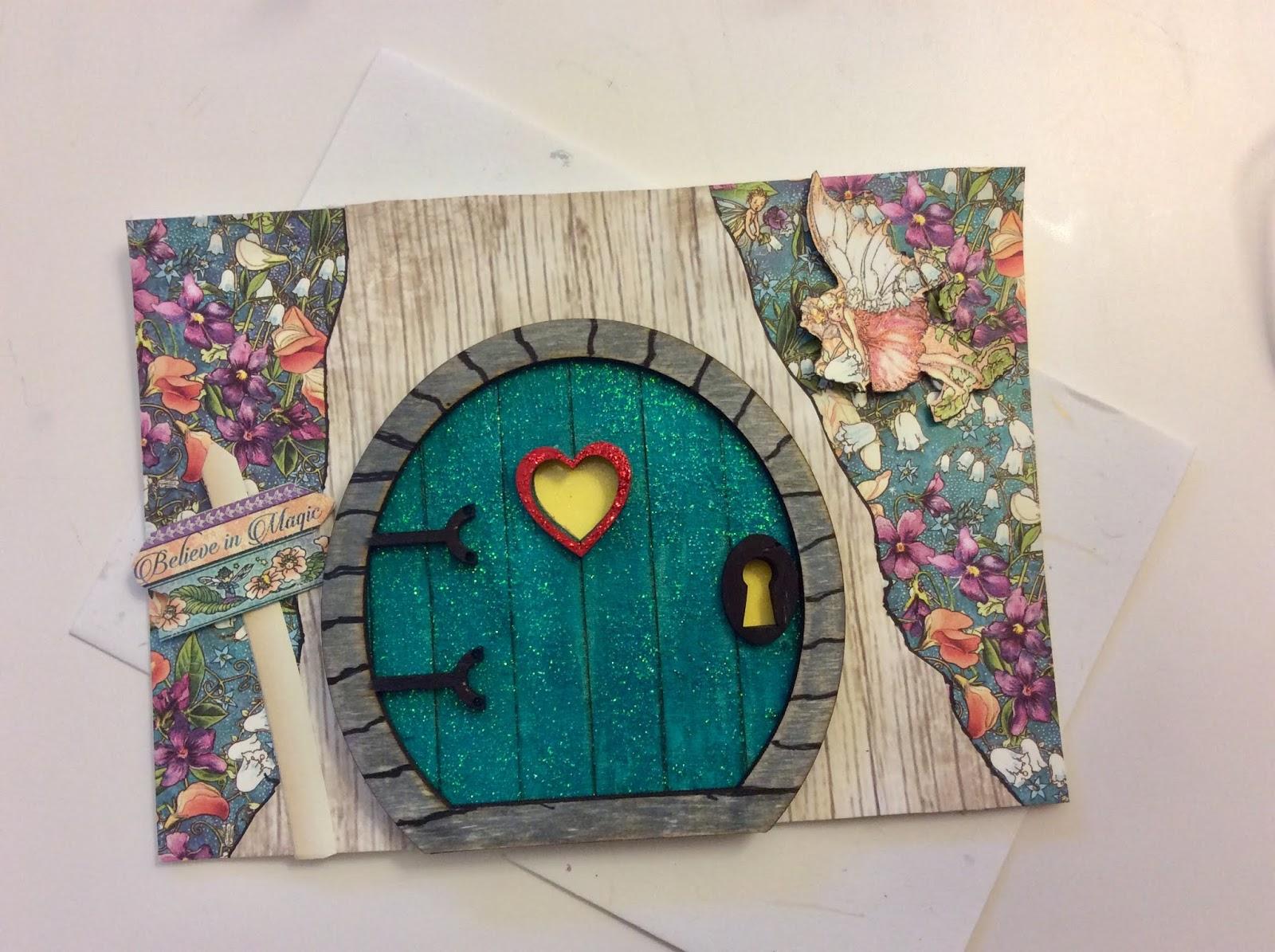Amazing Desert Dabbler Fairy House Card Download Free Architecture Designs Scobabritishbridgeorg
