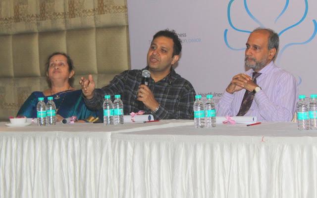 5. Dr.Lalita Dhareshwar , Dr. Haresh Mehta, Mr. Tushar Pradhan