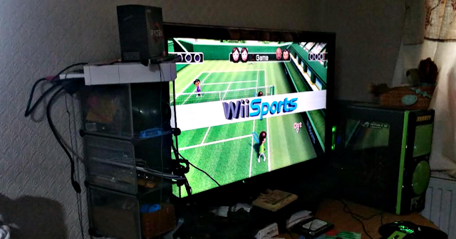 The Wii back up and working