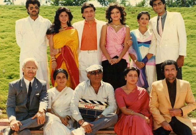 Indian Co Actors Filmography With Super Star Rajesh Khanna Yash Raj Chopra