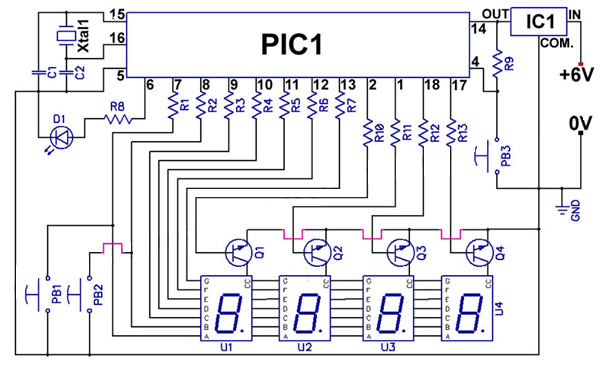 Led Clock Circuit Diagram - Search Wiring Diagrams on