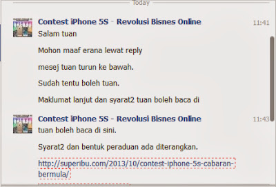 contest iphone 5S dan iphone 5C, review blog, sertai contest