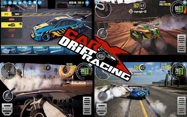 الان يمكنك تحميل لعبة CarX Drift Racing 2 MOD للأندرويد كاملة