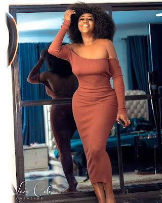 Photos Nollywood Actress Ini Edo flaunts hourglass figure