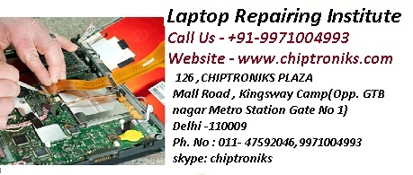 Laptop Repairing Course and Training @ Outstanding Laptop Repairing Institute