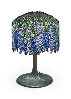 Lámpara Winteria de Tiffany, foto de Christie´s