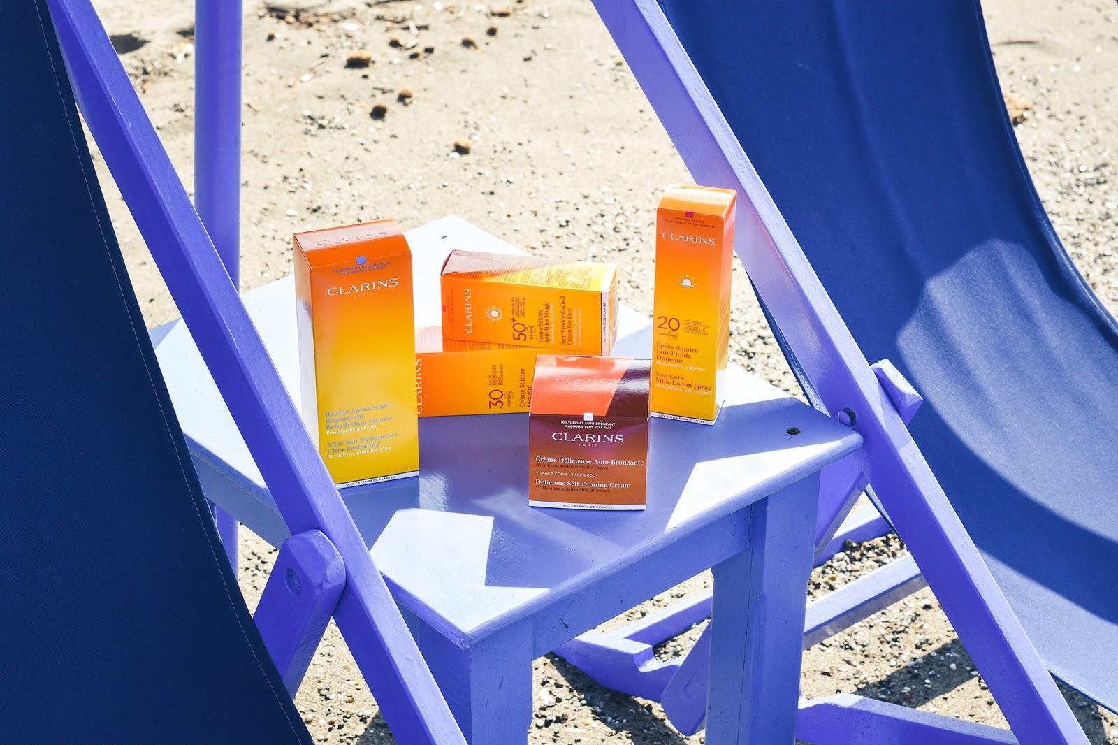 trattamenti solari Clarins