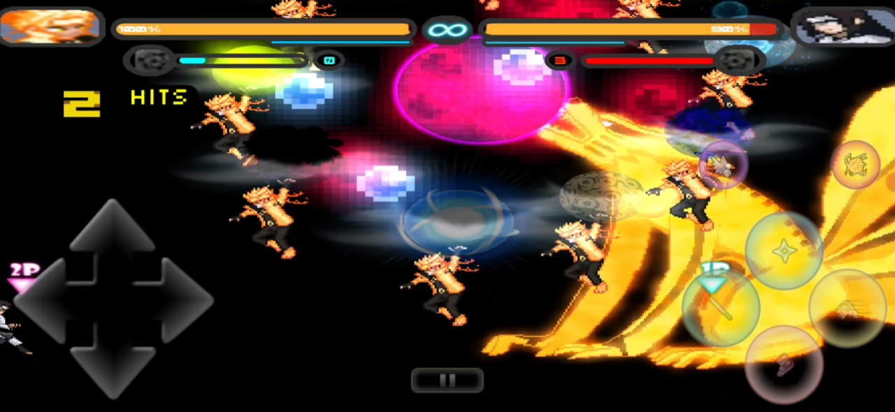 Naruto Mugen game for Android BVN mod