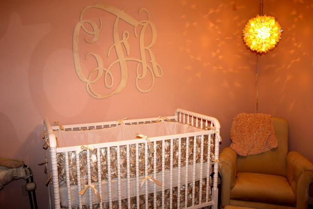 Sean And Nicole Custom Crib Bedding For Caroline