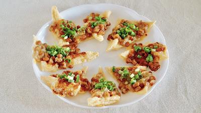 Natto Pizza (Low-Carb Diet Recipe)