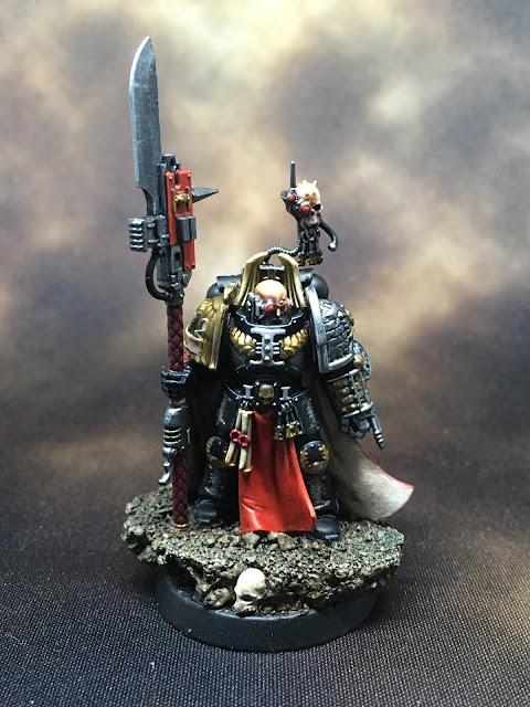Deathwatch Watch Master Amiel front