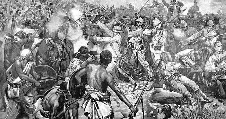 Ad Adua si era in mille contro duecento negri?