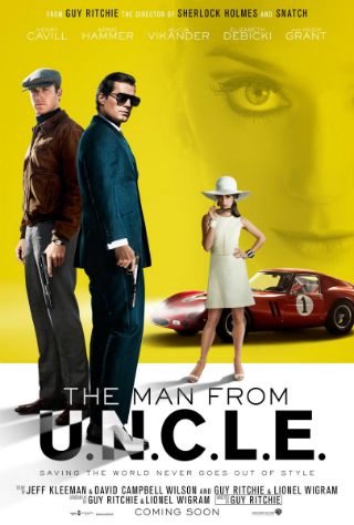 The Man From U.N.C.L.E. [2015] [DVD9] [NTSC] [Latino]