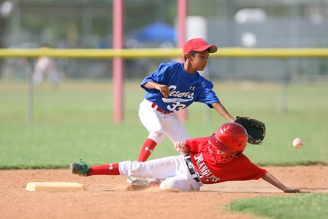 pemain menggunakan topi baseball
