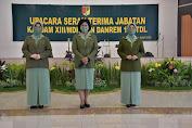 Ketua Persit KCK Daerah XIII Merdeka Pimpin Upacara Serah Terima Jabatan