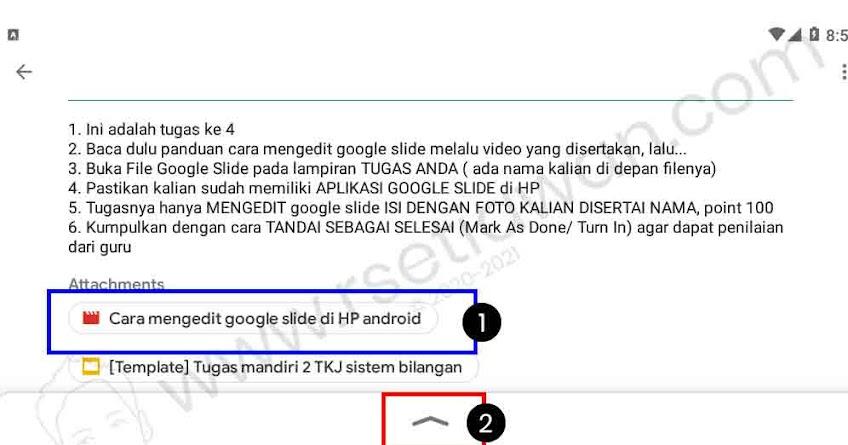 Cara menggunakan google slide di HP