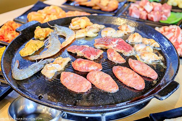 MG 1032 - 熱血採訪│韓式烤肉吃到飽400有找,多種肉品、蔬菜、熟食、小菜、飲料與冰淇淋,都在肉鮮生韓式烤肉吃到飽