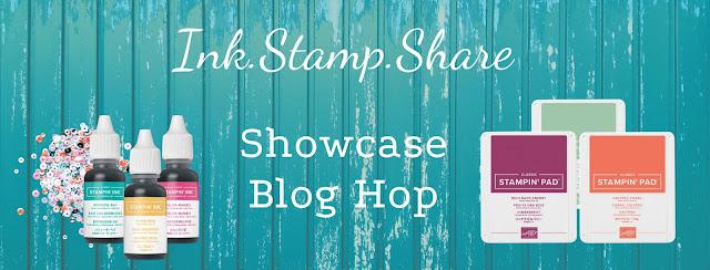 Ink.Stamp.Share Showcase Blog Hop Banner