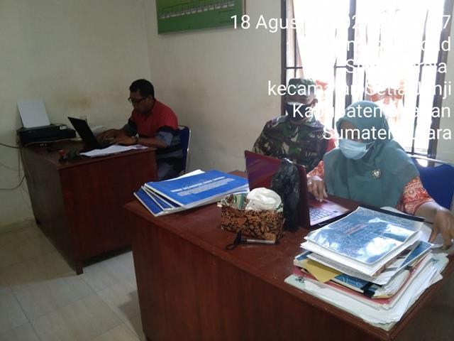 Pul Data Ter Dilaksanakan Personel Jajaran Kodim 0208/Asahan Diwilayah Binaan