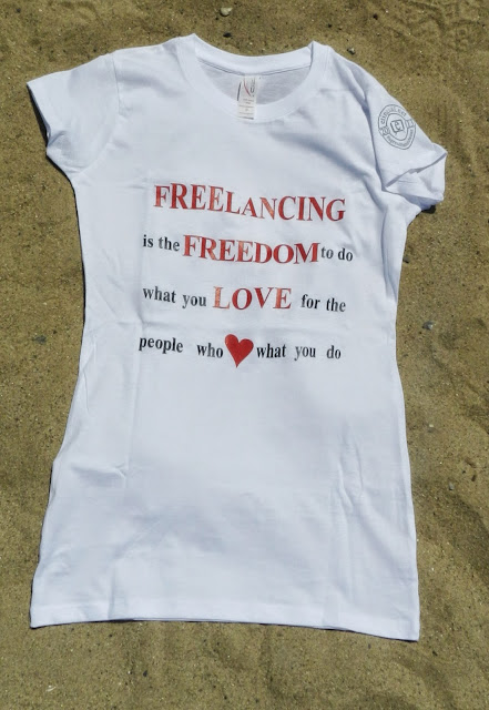 #SpreadTheWordWear Women's Freelancing is Freedom Shirt
