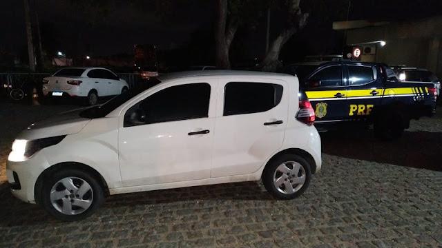 Foragido da justiça é preso com veículo roubado em Cidade do RN