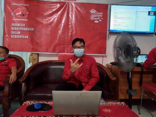 Makna 48 Tumpeng Pada Ultah PDI - Perjuangan Bagi Kader dan Simpatisan Partai