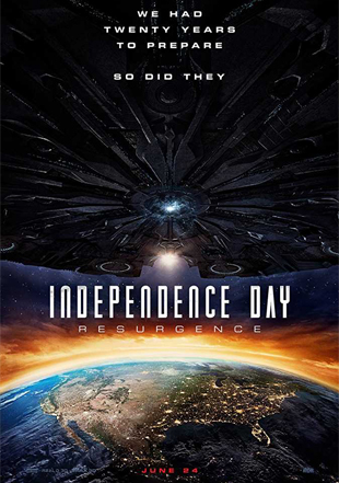 Independence Day: Resurgence 2016 BRRip 720p Dual Audio In Hindi English