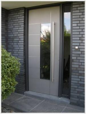 model daun pintu utama kaca
