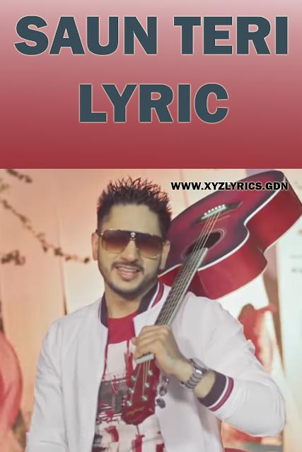SAUN TERI LYRIC | Jay Maan | Prit | Shera Dhaliwal | Video