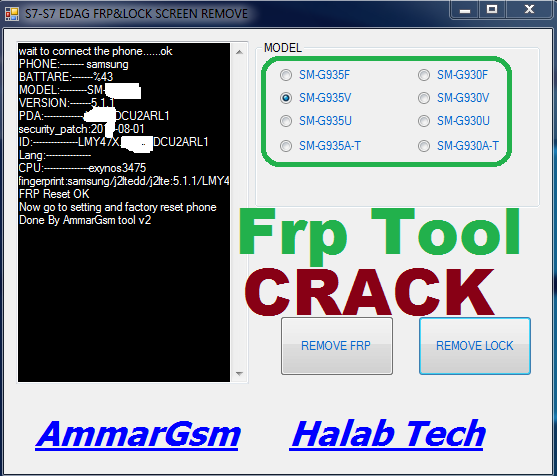 Samsung Frp Tool Pro Frp -Lock Screen Remover Crack Tool Download 2019