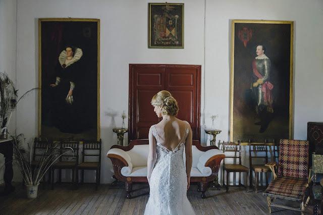 vestido de novia de pronovias - la boda de marco y lina