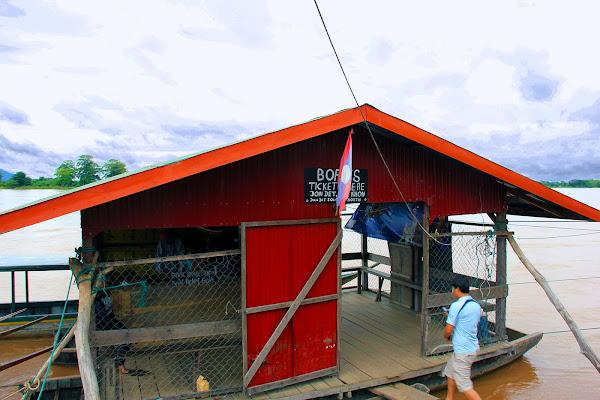 Embarcadero Ban Nakasang para ir a la Isla de Don Khon