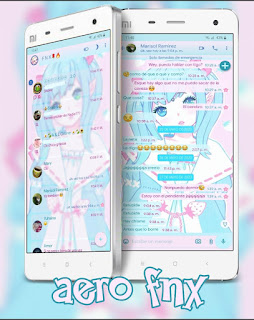 Anime Girls Theme For YOWhatsApp & Fouad WhatsApp By Ave fénix