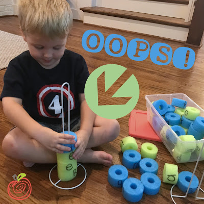 Tactile, fun, cheap, DIY idea for elementary classrooms