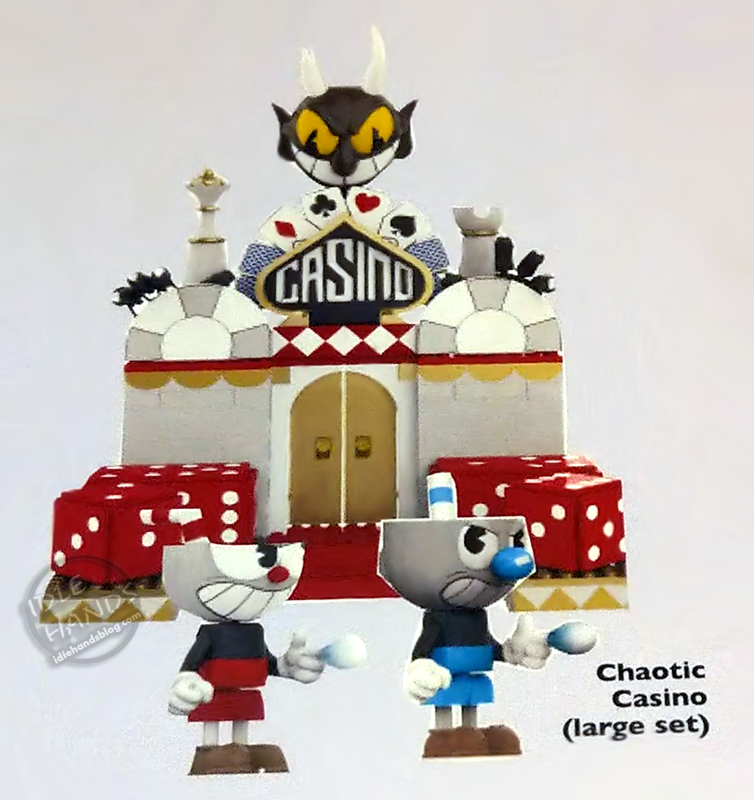 Chaotic Casino-Cuphead Large Construction Set