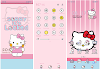 Oppo Theme: Hello Kitty Pink Blue Theme