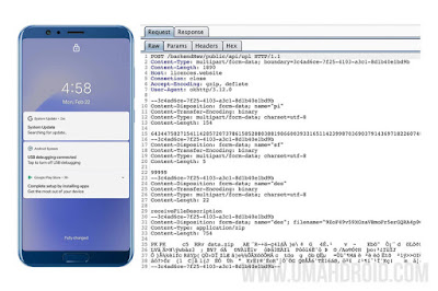 Malware System Update HP Android