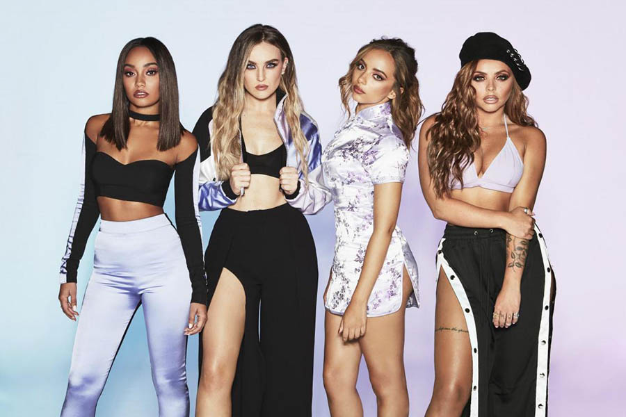 Little Mix Blonde Hot and sexy Girl Band