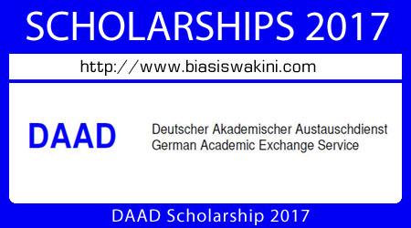 DAAD Scholarship 2017
