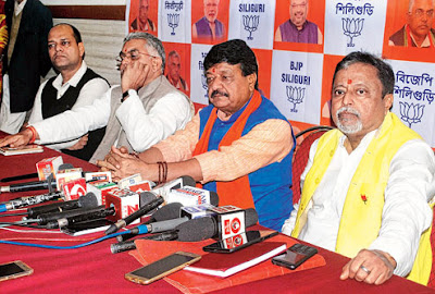 Mukul claims BJP win in north