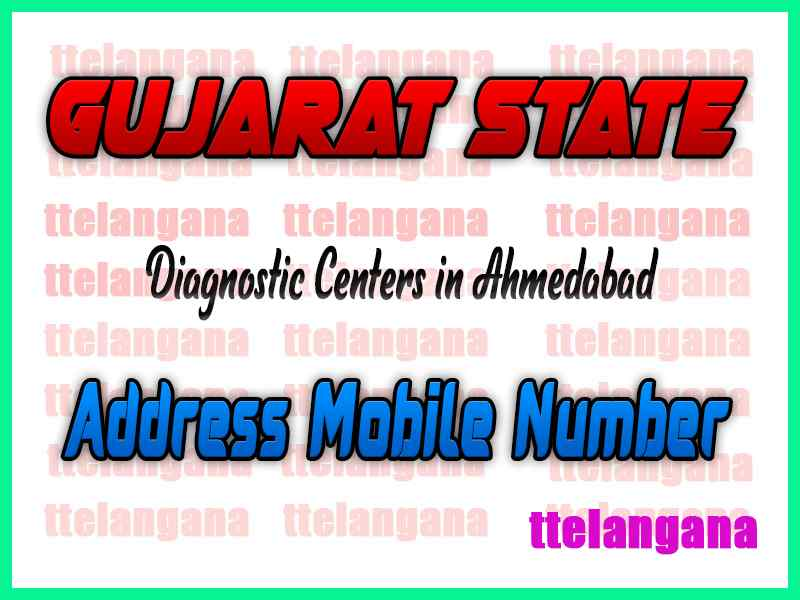 Diagnostic Centers in Ahmedabad