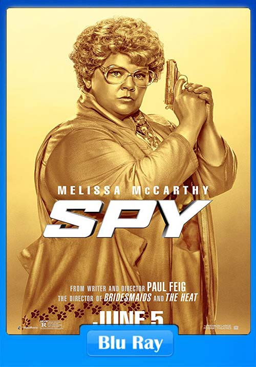 Spy 2015 720p BluRay Dual Audio Hindi English x264 | 480p 300MB | 100MB HEVC Poster