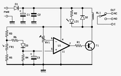 Electronic Project: A Miniaturized Photoelectric Twilight